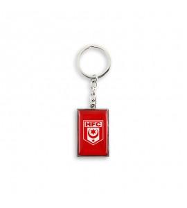 Schlüsselanhänger Logo Metall