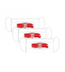 Maske Logo HFC 3er Set