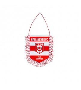 Banner Seide HFC rot-weiß